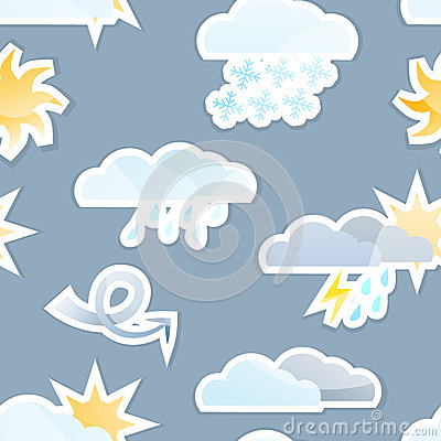 Seamless Weather Background