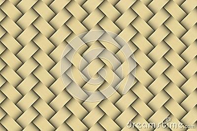 Seamless weaving golden pattern