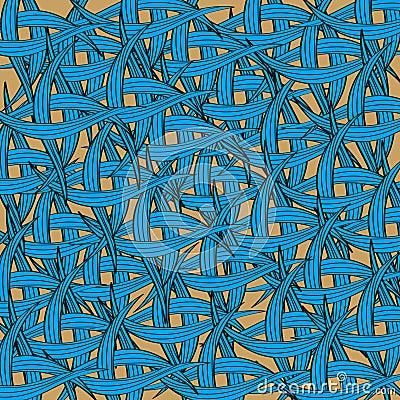 Seamless weaving pattern background