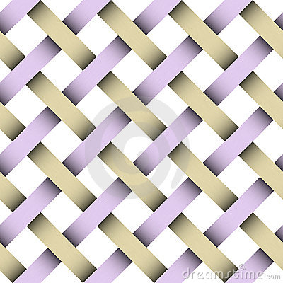 Seamless weaving pattern with clipping patch