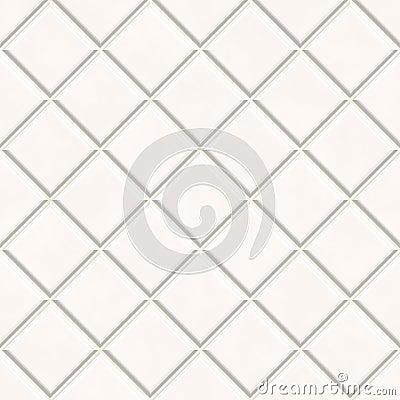 Seamless white tiles texture background