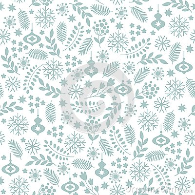 Free Seamless Winter Background Stock Photography - 44887842