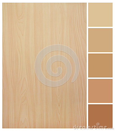 Free Seamless Wood Texture With Colored Palette Guide Stock Images - 32564814