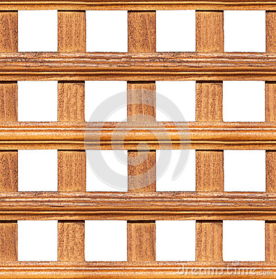 Seamless Wooden Fence