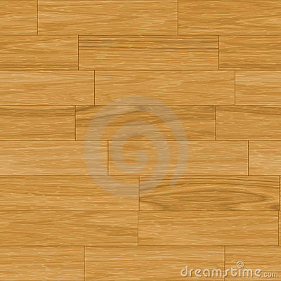 Seamless Wooden Parquet Flooring