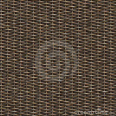 Free Seamless Woven Wicker Material Royalty Free Stock Photo - 8066555