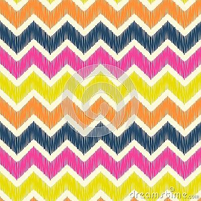 Free Seamless Zig Zag Pattern Stock Image - 53982441