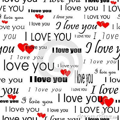 Seamlessly wallpaper valentine