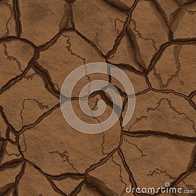 Seamlsess texture cracked hearth
