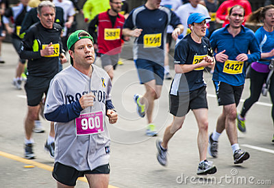 Sean Astin at Vancouver Sun Run 2013 Editorial Image