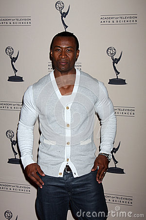 Sean Blakemore arrives at the ATAS Daytime Emmy Awards Nominees Reception Editorial Photography