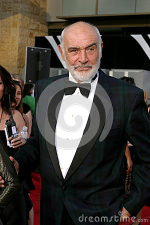 Sean Connery Editorial Stock Photo