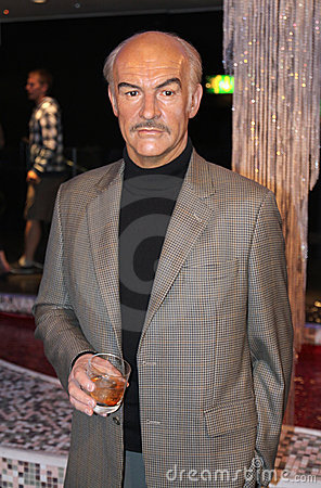 Sean Connery at Madame Tussaud s Editorial Photography
