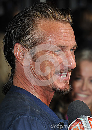 Sean Penn Editorial Stock Photo
