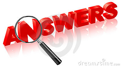 Search answers on questions solve problems