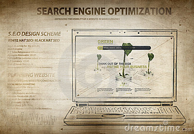 Search engine optimization scheme