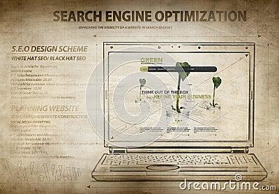 Search engine optimization scheme