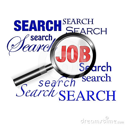 Search find job magnify glass