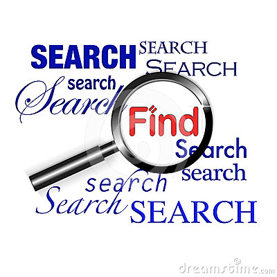 Search find magnify glass