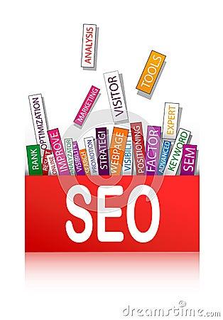 Search optimization concept