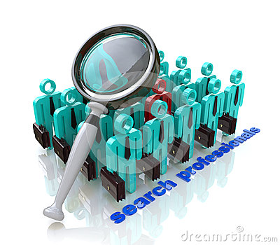 Search professionals