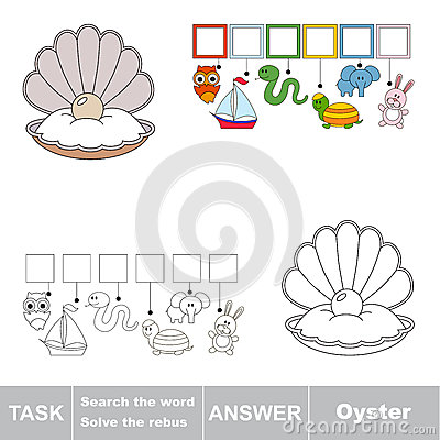 Free Search The Hidden Word, The Simple Educational Kid Game. Royalty Free Stock Photography - 89829687