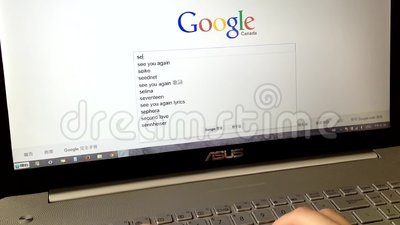 Searching on Google. Google is the most popular search engine in the world