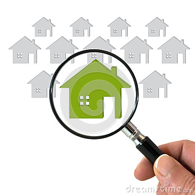 Searching for house