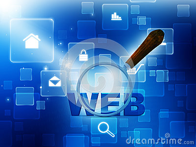 Web Searching Stock Photography - Image: 17364422