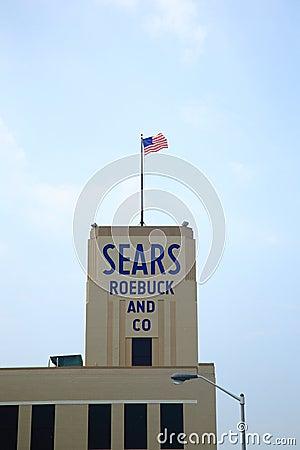 Sears Store Editorial Photo