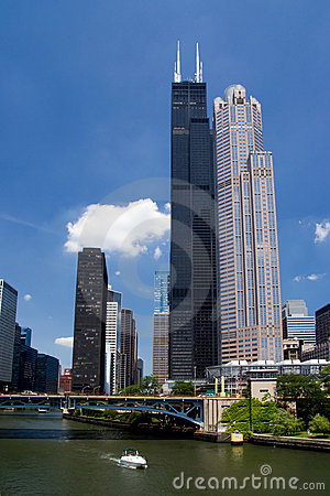 Free Sears Tower Royalty Free Stock Photography - 2735937