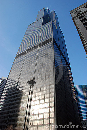 Free Sears Tower (Willis Tower) In Chicago Royalty Free Stock Images - 11857219