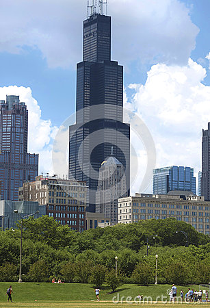 Sears/Willis Tower in Chicago, Illinois Editorial Image