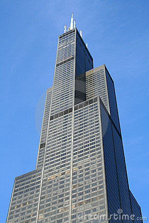 Free Sears Willis Tower In Chicago Royalty Free Stock Photo - 6295545