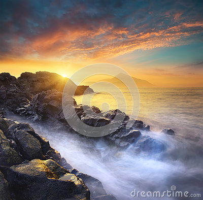 Free Seascape Royalty Free Stock Image - 74360596