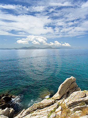 Free Seascape And Rocks Stock Photo - 1061480