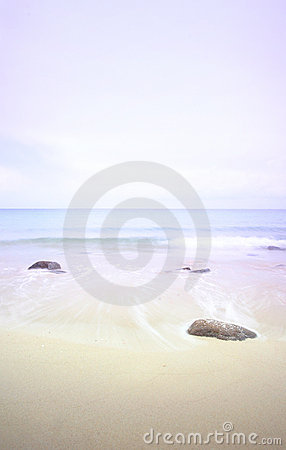 Free Seascape At Misty Dawn, Pastels Royalty Free Stock Photo - 5472855