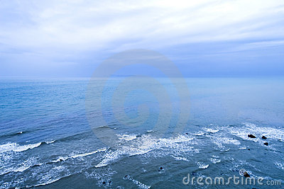 Seascape horizon