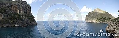 Seascape mallorca panoramic