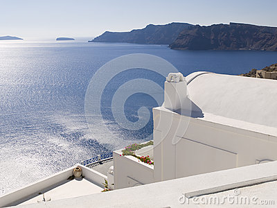 Seascape from Oia