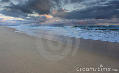 Seascape shoreline