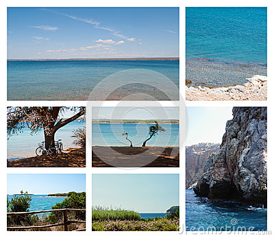 Seascapes summertime collection