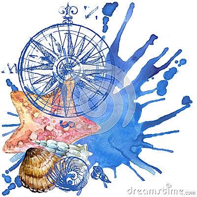 Free Seashell Background Royalty Free Stock Image - 54112726