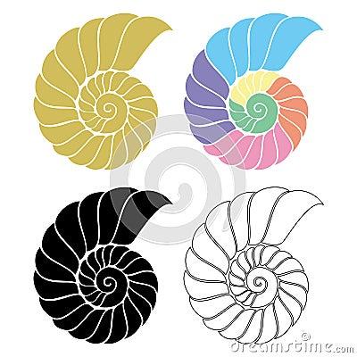 Seashell Nautilus