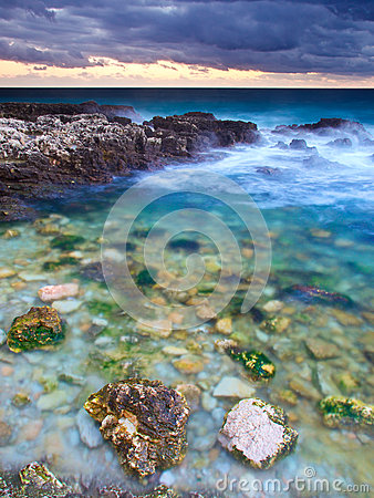 Seashore Royalty Free Stock Image - Image: 24982676