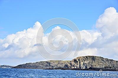 Seashore in Ireland