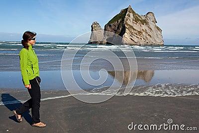 Seashore walk