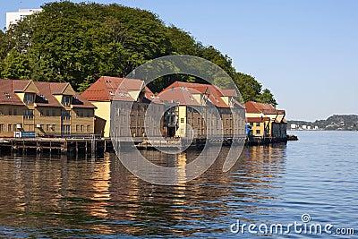 Seaside buildings