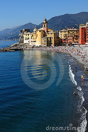 The seaside of Camogli  Italia