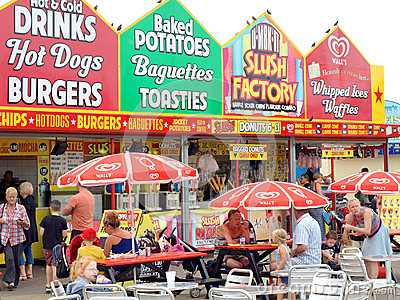 Seaside Food and Drink, Skegness.